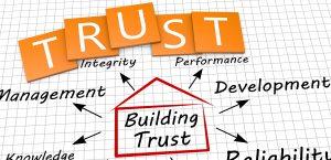 Building trust as a concept
