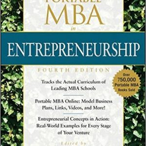 The Portable MBA in Entrepreneurship Hardcover by Bygrave