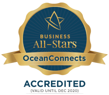 OceanConnects – Business All-Star Accreditation 2019 !